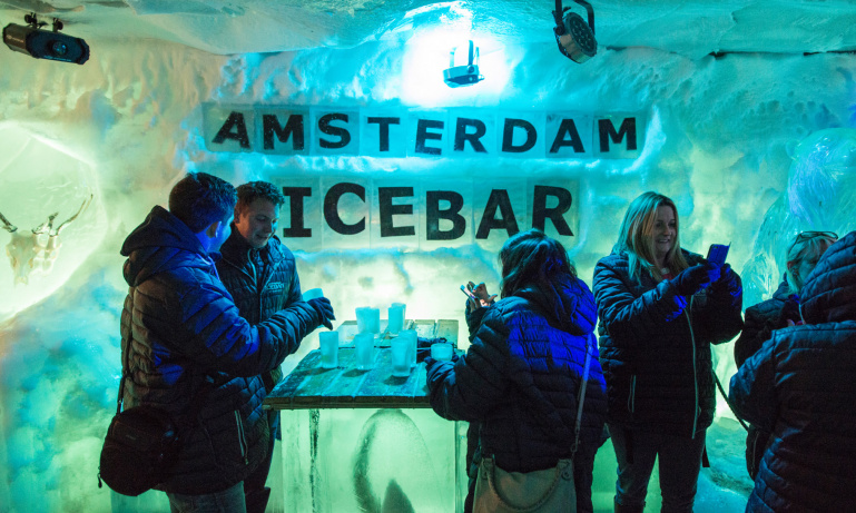 Amsterdam Ice Bar Tour